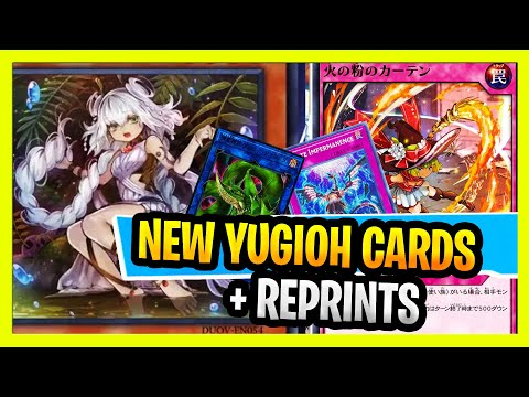 New YuGiOH Cards! 2020 TCG Needlfiber, Predaplant, Five God Dragon Link! + New Rush Cards