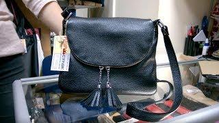 Обзор сумки Beverly флотар, черная - Мир Сумок