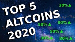 ALTSEASON 2020? MY TOP 5 ALTCOINS 🚀