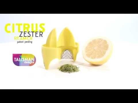 Citrus Zester & Reamer - Talisman Designs