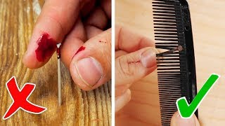 Trying 25 GENIUS REPAIR LIFE HACKS By 5 ...