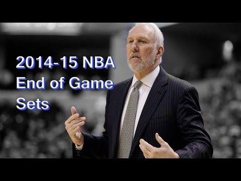 2014-15 NBA End of Game Playbook