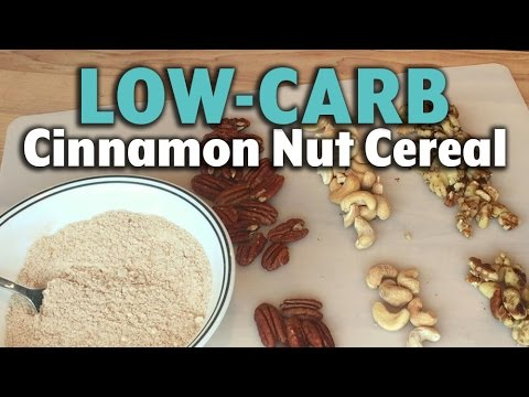 Low-Carb Cinnamon Nut Cereal