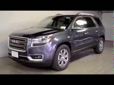 Cable Dahmer Chevrolet >> 2014 GMC Acadia SLT 2 Atlantis Blue Metallic 2104 162889 - YouTube