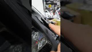 뉴포르자 300 스크린작동시 소음 개선방법