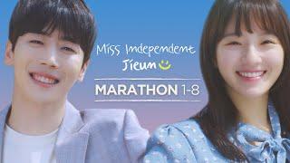 1 HOUR LONG Miss Independent Jieun Marathon EP. 1-8  ENG SUB • dingo kdrama