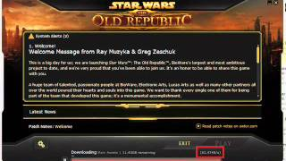 star wars the old republic SLOW DOWNLOAD!!!!(, 2011-12-17T04:22:11.000Z)