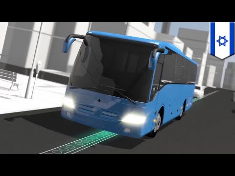 Electric road: Israeli bus company invests millions in wireless charging electric roads - TomoNews