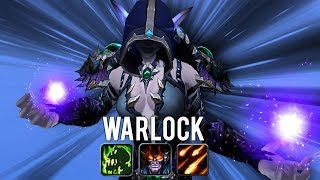 Warlock 3 SPEC Duels! Affy/Destro/Demo (1v1 Duels) -  Rogue PvP WoW: Battle For Azeroth 8.1