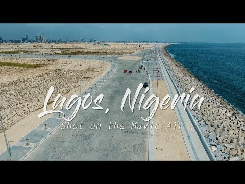 LAGOS NIGERIA - Shot on DJI MAVIC AIR in 4k
