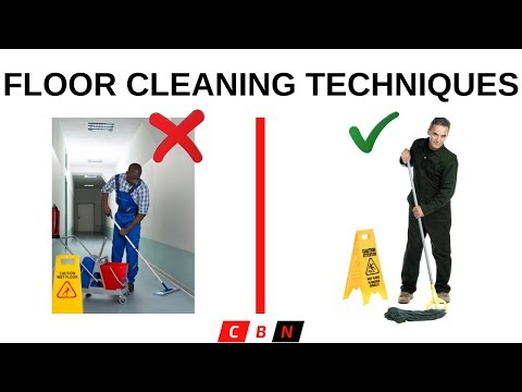 How To Clean Floor Types | For Beginners