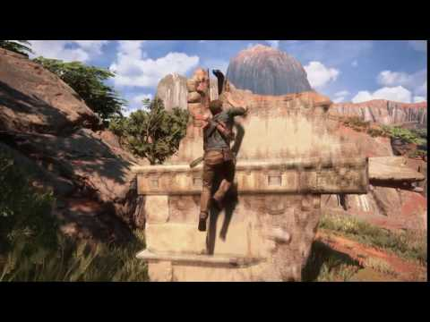 Uncharted™ 4: Treasure in ruins Madagascar after bridge winch