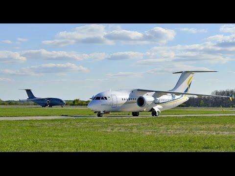 Демонстраційні польоти літаків сімейства Antonov AN-158 та AN-178