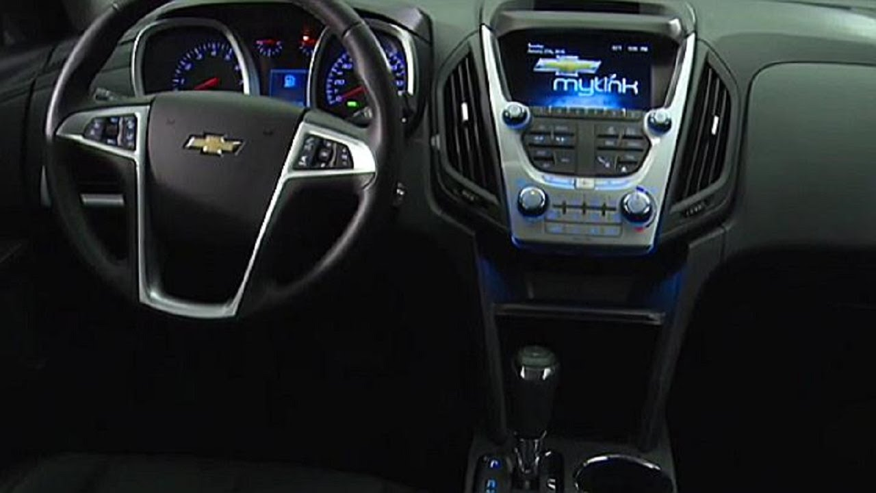 2016 Chevrolet Equinox Ltz Interior And Exterior Design