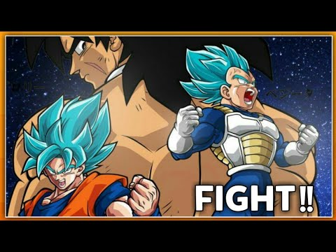 Dragon ball Super New Movie : Broly VS Goku || Full Fight ...