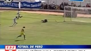 Alianza Atletico 0 vs Sporting Cristal 2 DESCENTRALIZADO 2009 Hector Hurtado, Edwin Perez