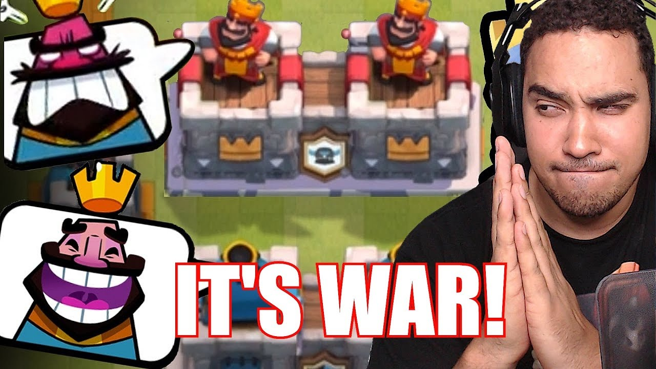 """ITS WAR!!! """"Clash royale"""" CLAN WAR AND MORE!!"""