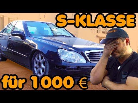 Ich habe einen W220 320CDI für 1000 € gekauft! 🛠 FEHLKAUF ODER SCHNAPPER? 🛠 #AUTOFÜRBABA