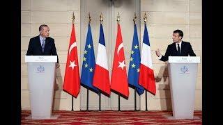 Erdoğan Paris'te AB'ye rest çekti! 'Sürekli 'Ne olur bizi alıverin' diyecek halimiz yok'