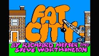 Fat city longplay with cheats (Apple II - Weekly Reader Family software)