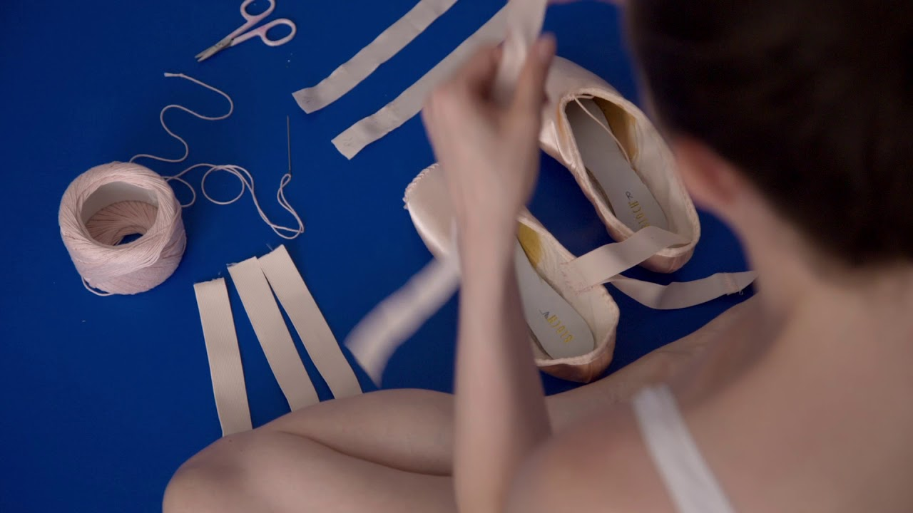 70d76e554 En Pointe  How our ballet dancers prepare their pointe shoes - YouTube