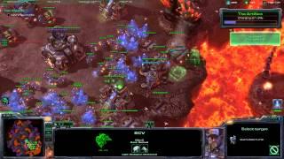 Starcraft 2 All In Brutal & Achievements - Ground & Nydus Version - Part 1