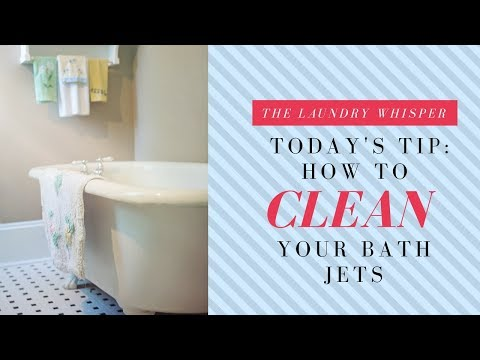 How to Clean Your Bath Jets Easier and Better!!!