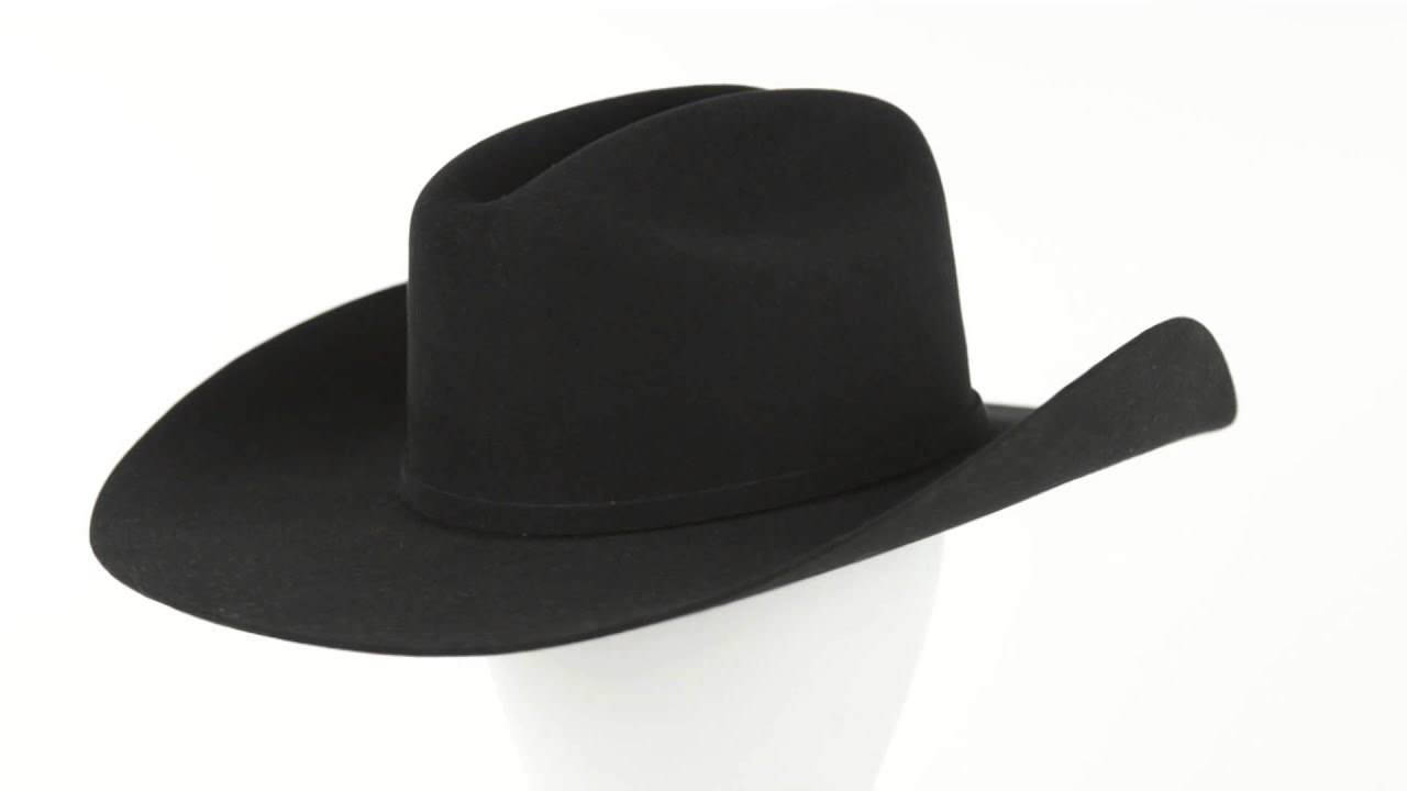 b5aaace1e65 Resistol The Challenger Cowboy Hat - 5X Fur Felt (For Men and - YouTube
