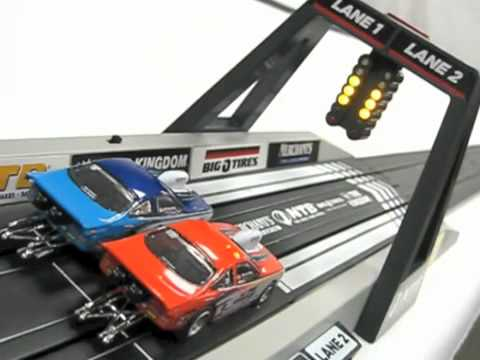 Service Central Racing Electric Slot Car Set Youtube