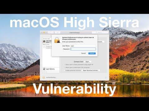 Major macOS High Sierra Bug - Update Now!