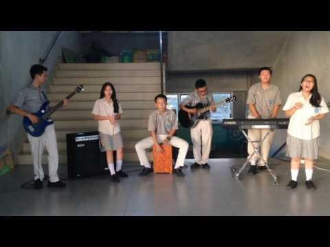 Aku Pasti Bisa - Citra Scholastika Cover By Stanza   Loop Music Contest SMK IMMANUEL PTK