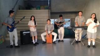 Aku pasti bisa - Citra Scholastika cover by Stanza | Loop Music Contest SMK IMMANUEL PTK