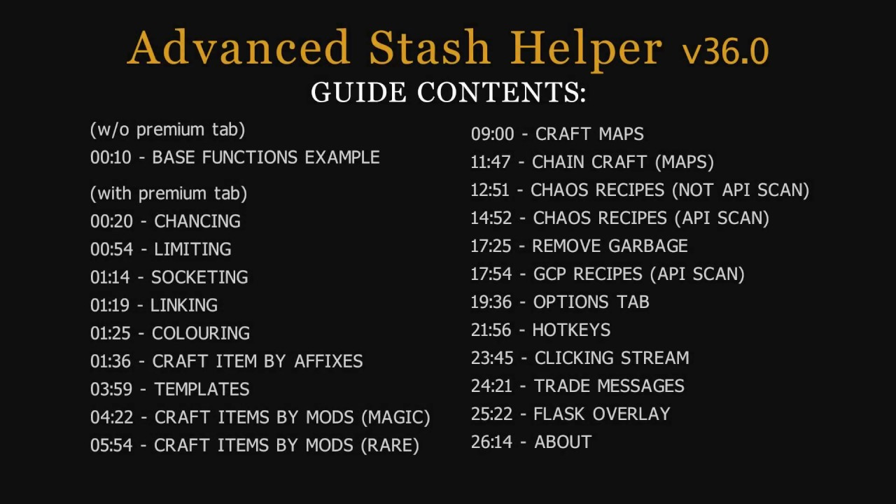 Auto-Clicker] Advanced Stash Helper