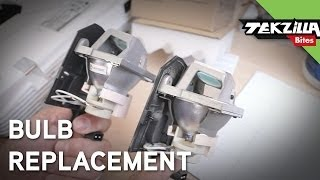 How to Replace a Projector Lamp