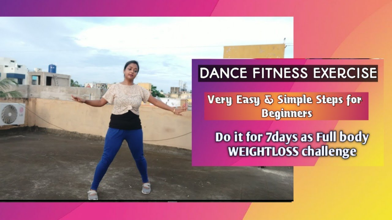 GHUNGROO. Dance fitness Exercise for beginners. Weightloss dance simple steps.