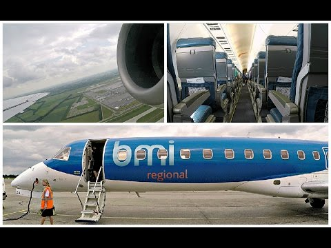 Flight Report | BMI Regional Embraer ERJ 145  Munich To Rotterdam