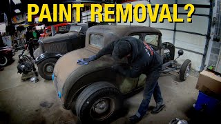 How to Remove a BAD PAINT JOB without Damaging the Original Paint! Eastwood