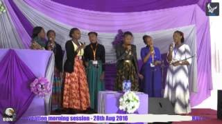 Nairobi 2016 Convention.  The Great Angel Of God In The Form Of 3 Rainbows Pt 1a.