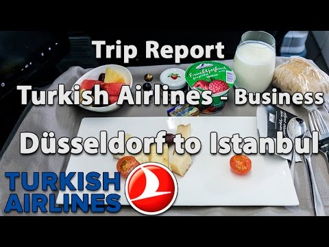 Trip Report : Turkish Airlines | Business class | Düsseldorf to Istanbul | A321 | TK1524 | DUS-IST