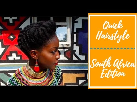 Natural Hairstyles #3 - South Africa Edition | Nakawunde