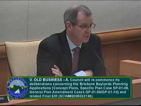 City of Brisbane Council Meeting 3-22-18