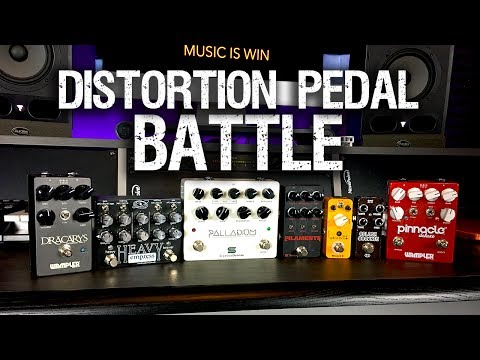 Battle of the Distortion Pedals