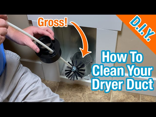 How To Clean Your Dryer Vent Duct - Step By Step - It's Super Simple!