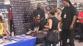 Fabolous at 34th Street Foot Locker in NYC