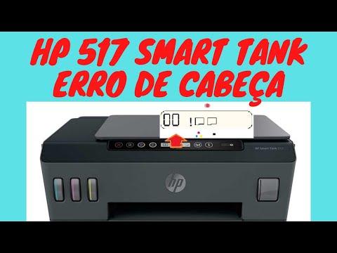 HP 517 Smart Tank com erro de cabeça de impressão? [Tutorial Corrigindo fácil e rápido HP 517]