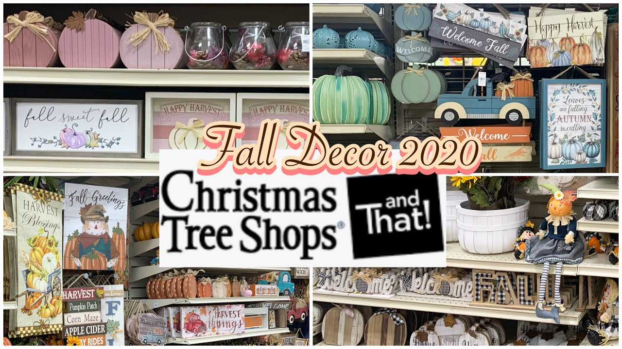 Christmas Tree Shops Fall Decor 2020 Shop With Me August 2020 Youtube