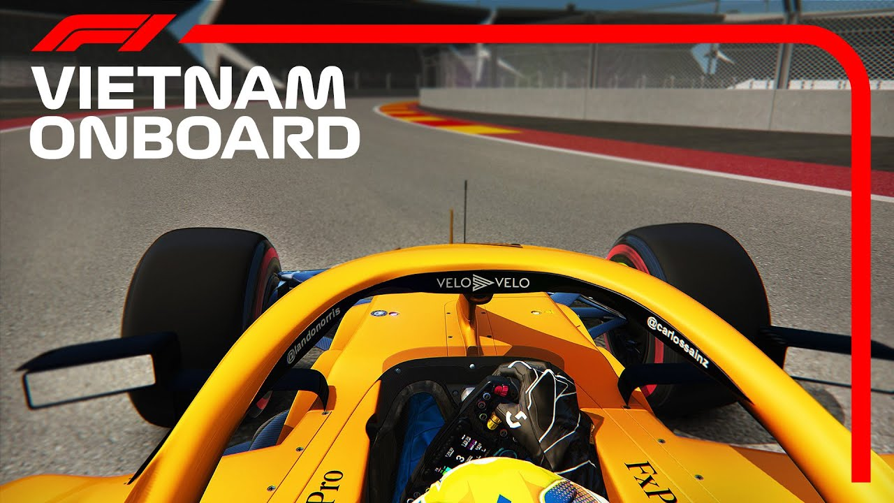 F1 2020 Vietnam Grand Prix: Lando Norris Onboard Lap