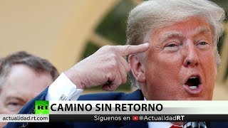 Trump amenaza con enviar tropas y cerrar la frontera con México
