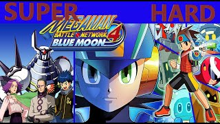 TAS/TAP (GBA) MegaMan Battle Network 4 Blue Moon [SUPER HARD] (100%, No Damage & DarkSoul) 3/3 FINAL
