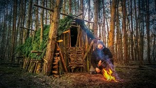 Primitive Technology: Wood Roof Hut Fanvideo